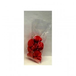 100 sacs cellophane plat