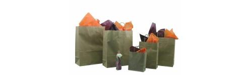 Sac papier - sac plastique